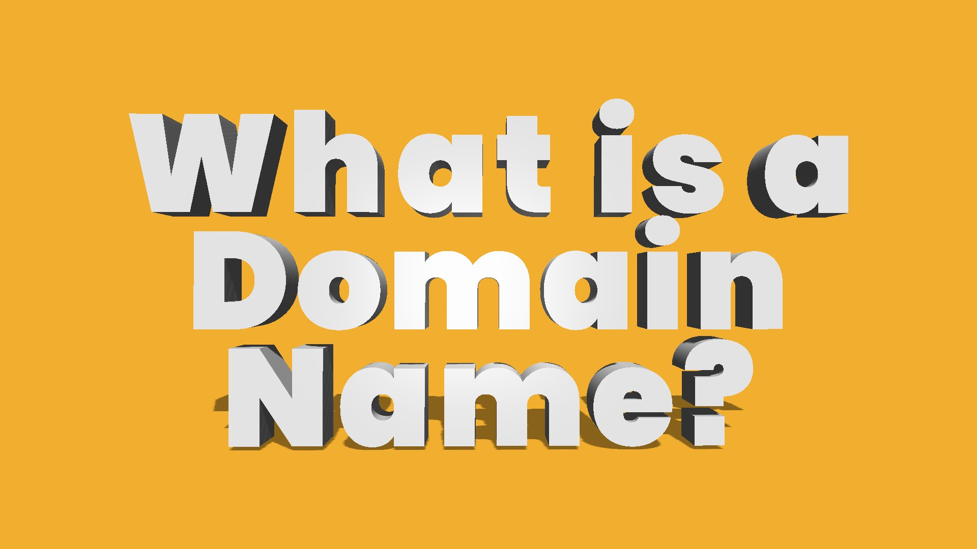 What Is A Domain? The Space Global